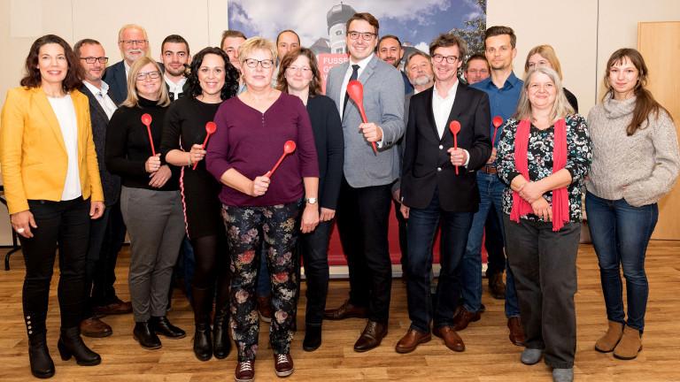 Gemeinderatskandidaten 2020 Gruppenfoto